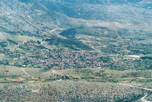 Αεροφωτογραφία περιοχής Κρανέας